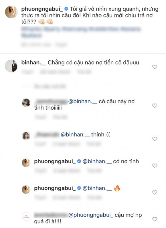 diễn viên Bình An, á hậu Phương Nga