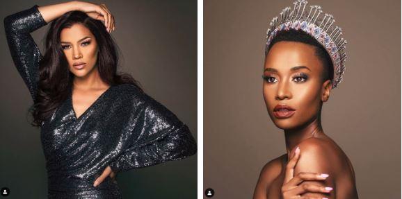 Miss Universe 2019,Olivier,Zozibini Tunzi,Hoa hậu Nam Phi
