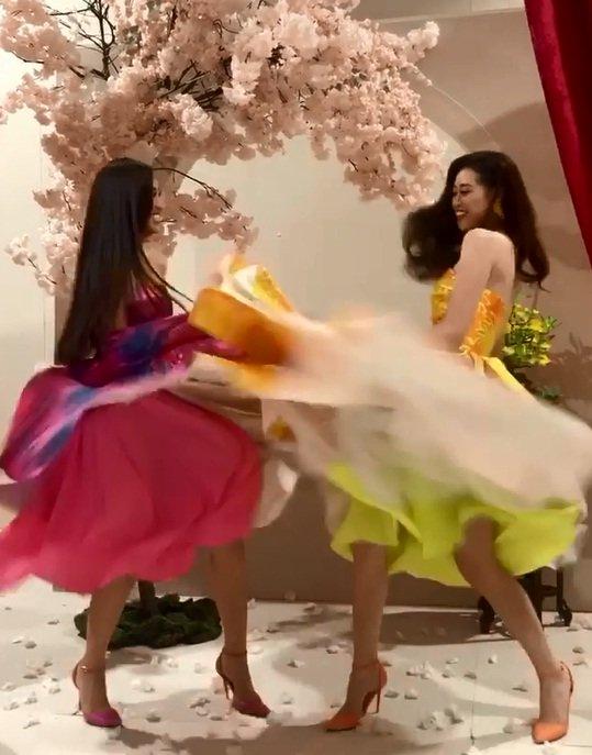 hoa hậu Khánh Vân, á hậu Kim Duyên, sao Việt