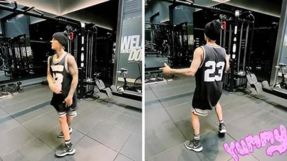 justin bieber, taylor swift, phòng tập gym, sao hollywood