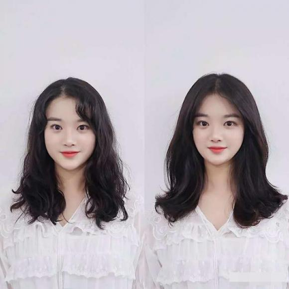 mặt tròn, tóc mái, mặt tròn để tóc mái nào phù hợp, tóc mái hợp cho khuôn mặt tròn
