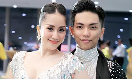 kiện tướng dancesport Khánh Thi, sao Việt, con khánh thi phan hiển