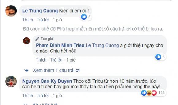 Minh Triệu, Kỳ Duyên, sao Việt