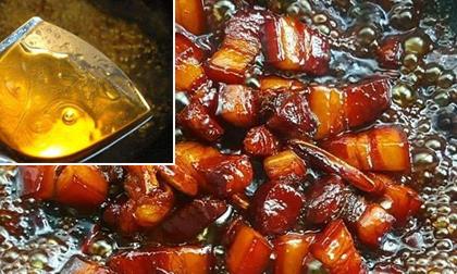chưng đường, nước hàng, thịt lợn kho, dạy nấu ăn