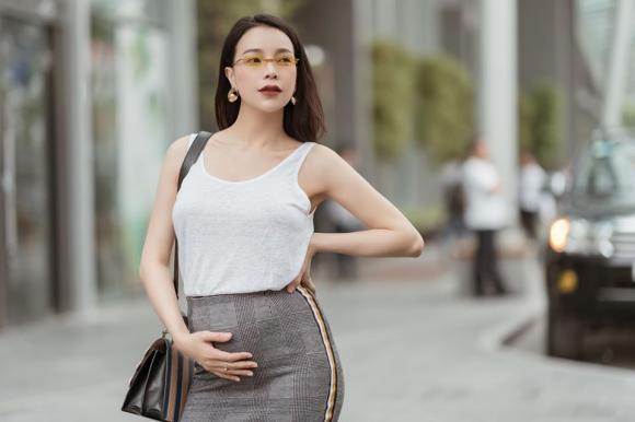 Trà Ngọc Hằng, Trà Ngọc Hằng mang bầu, sao Việt