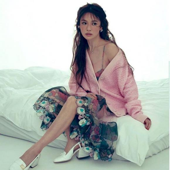 Ngắm trọn bộ ảnh đẹp lạ của Song Hye Kyo mới thấy cô đúng không hổ danh 'tượng đài nhan sắc'