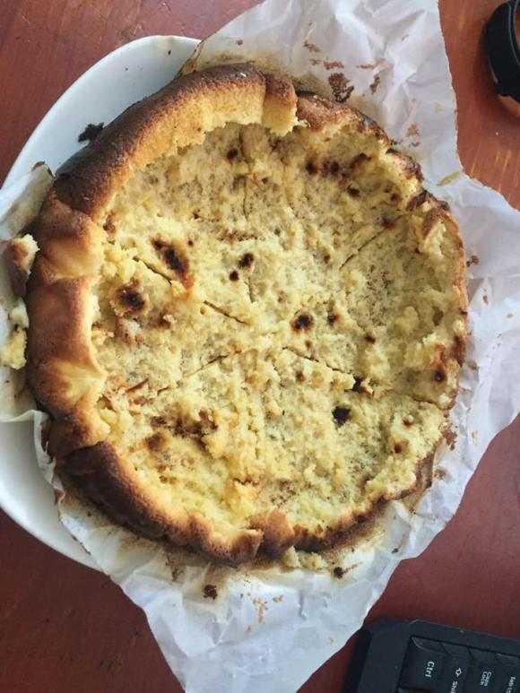 làm bánh bông lan, làm bánh bông lan bằng nồi cơm điện, làm bánh