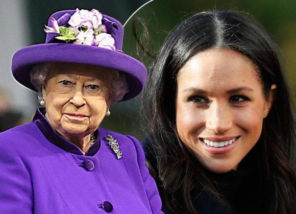 Nữ hoàng Anh,Hoàng gia Anh,Meghan Markle