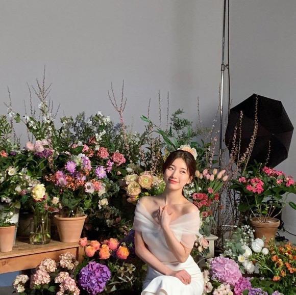 Quả không hổ danh 'Tình đầu quốc dân', Suzy khiến dân tình chết lịm trước vẻ đẹp quá đỗi ngọt ngào