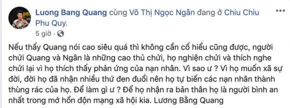 nhạc sĩ Lương Bằng Quang, hotgirl Ngân 98