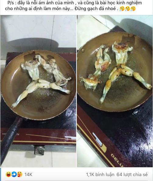 món ếch chiên, hội ghét bếp, nấu ăn dở