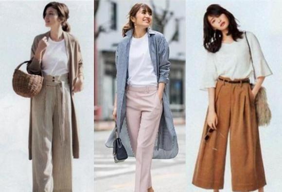 mẹo mặc đẹp, chọn quần hợp người eo và mông to, người mông và bụng béo chọn quần nào, thời trang
