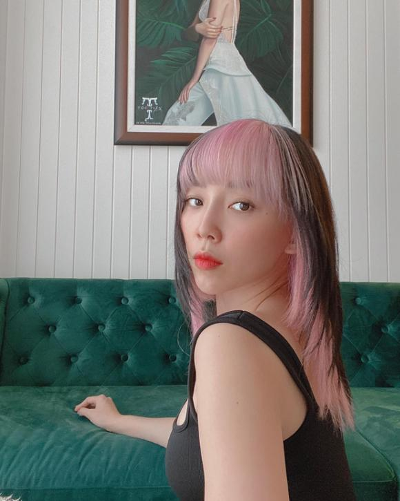 Tóc Tiên đổi kiểu tóc đúng style 'Black Pink' cực cá tính