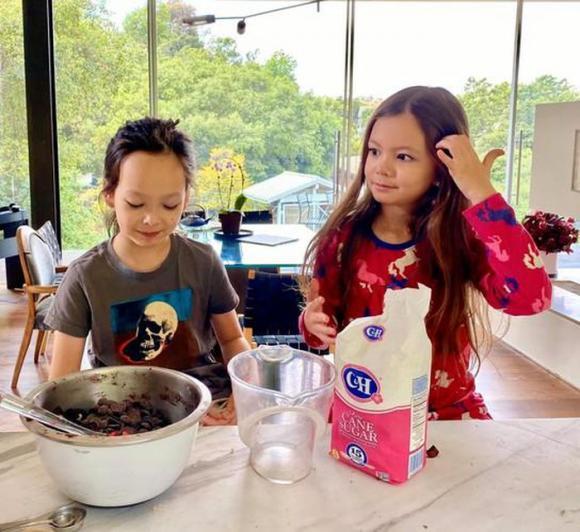 Cuộc sống của Hồng Nhung và cặp song sinh tại biệt thự ở Mỹ ra sao?