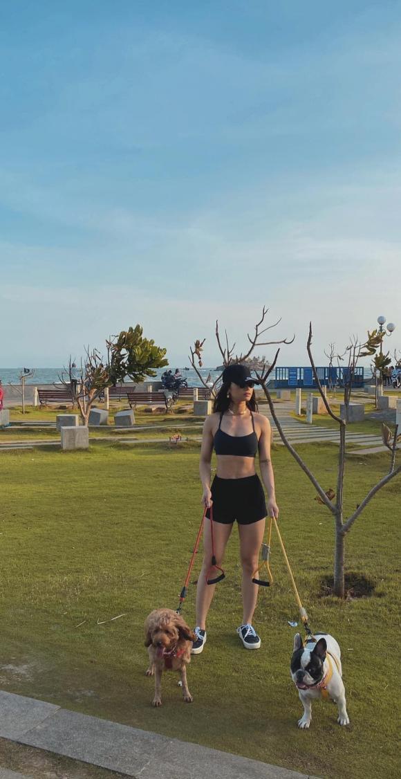 """Miu Lê tung clip tập gym, khéo léo đáp trả những bình luận """"body"""