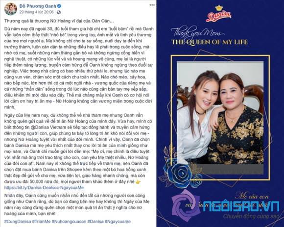 Phương Oanh, Danisa, Ngày của mẹ