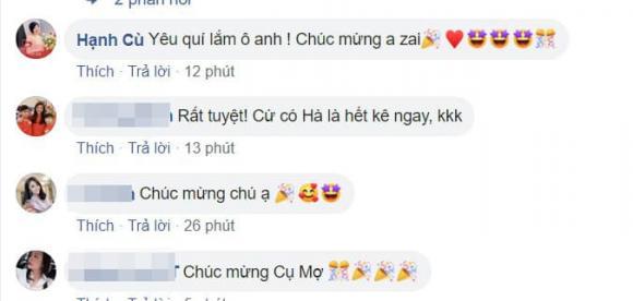 Công Lý, bạn gái Công Lý, sao Việt