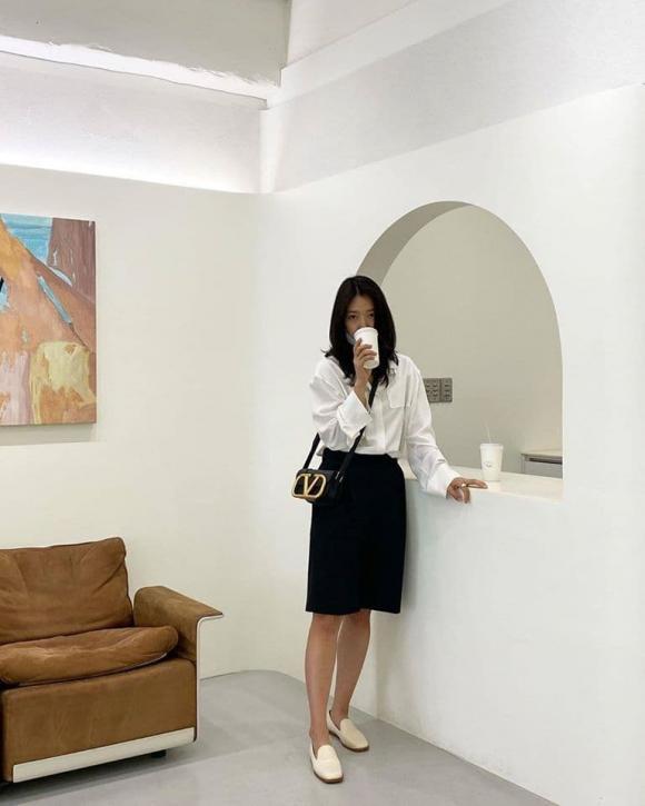 park shin hye, thời trang của park shin hye, nàng công sở, sao hàn