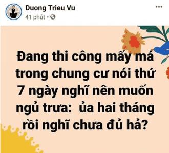 Dương Triệu Vũ,sao Việt,Dương Triệu Vũ sửa nhà