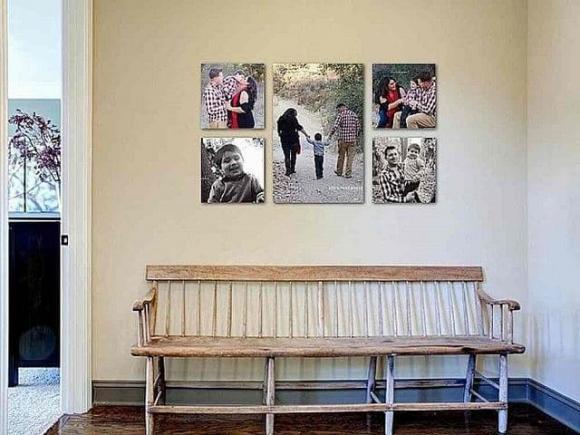 treo tranh, tranh gia đình, phong thủy nhà ở