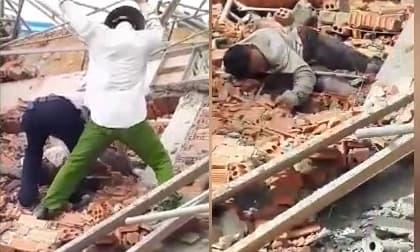 Sập tường, sập công trình, 10 người chết, tai nạn lao động, đồng nai