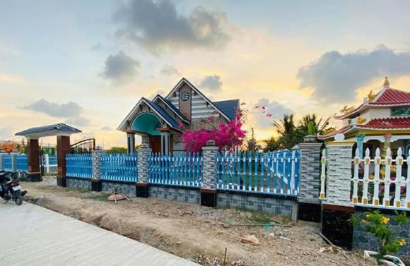 Quách Ngọc Ngoan khoe nhà vườn rộng đến 1 ha tại quê nhà