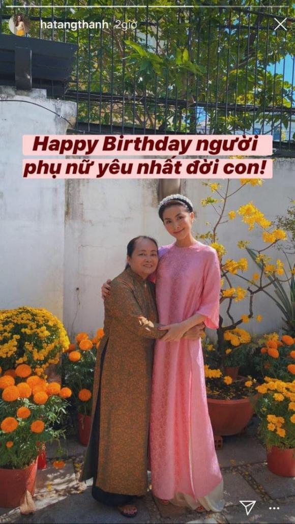 Diễn viên Tăng Thanh Hà, mẹ tăng thanh hà, sao việt