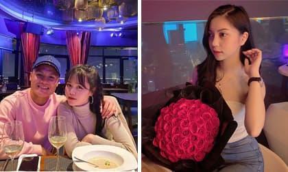 Nhật Lê, Quang Hải, bạn gái của Quang Hải