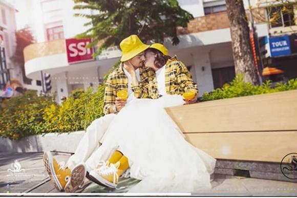 ảnh cưới, cô dâu 65 tuổi, chồng tây, ảnh cưới tuổi teen