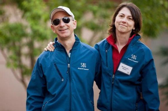 tỷ phú Jeff Bezos, cuộc ly hôn lịch sử, ông chủ Amazon