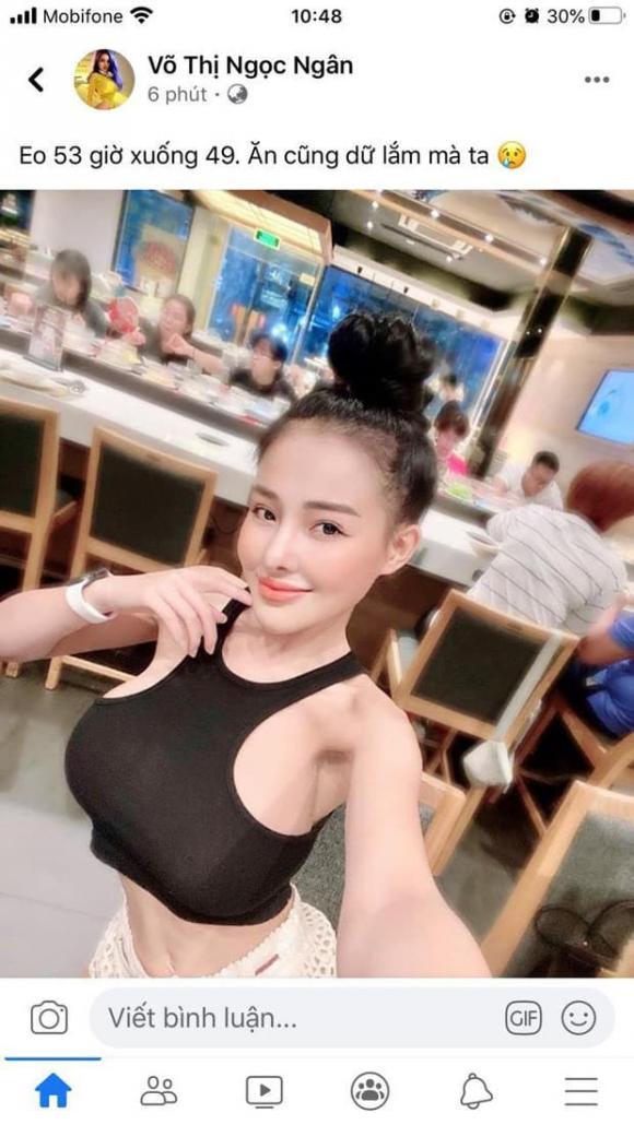 Nữ hoàng nội y ngọc trinh, hotgirl Ngân 98, sao Việt