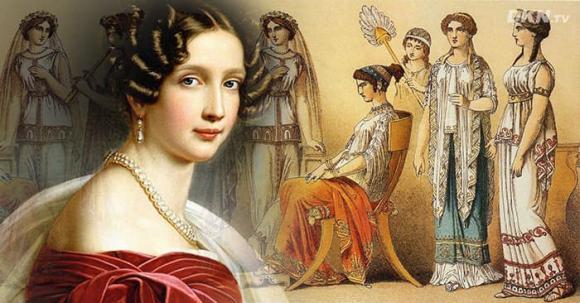 Tướng cổ phụ nữ sinh ra trong nhung lụa, lấy chồng giàu sang cả đời sung sướng