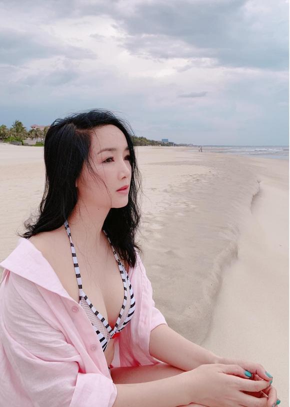 Hoa hậu giáng my,hoa hậu đến hùng,giáng my diện bikini