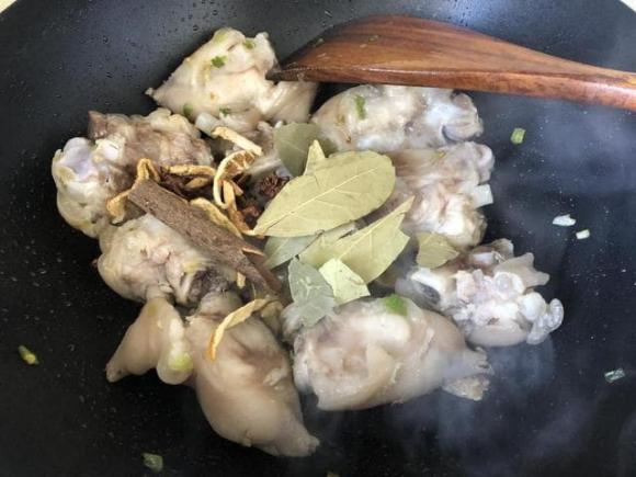Tuyệt chiêu nấu chân giò hầm, món ngon mỗi ngày, ẩm thực gia đình