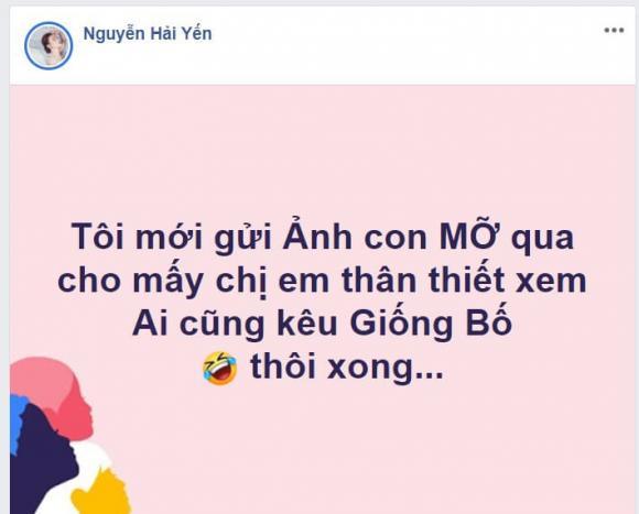 Hải Yến idol, ca sĩ Hải Yến, con Hải Yến, sao Việt