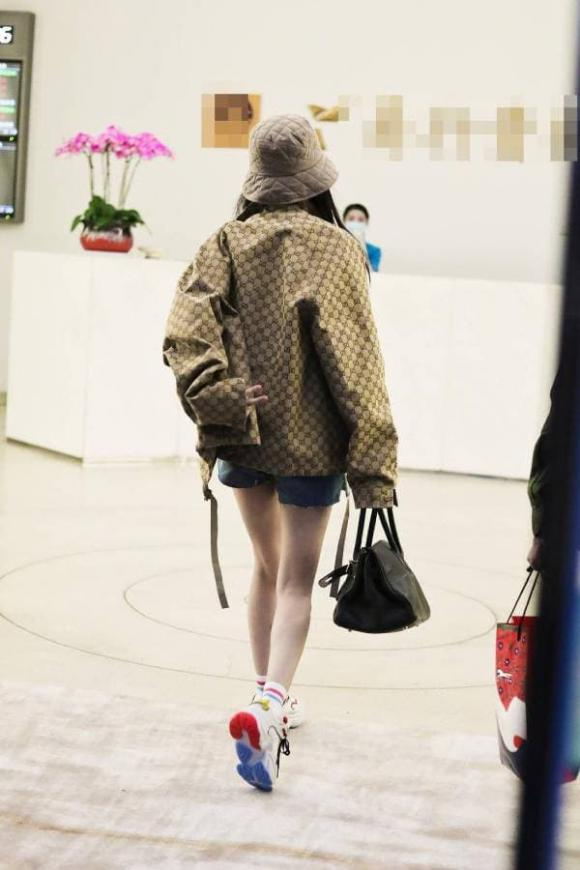 dương mịch, thời trang sân bay, sao hoa ngữ