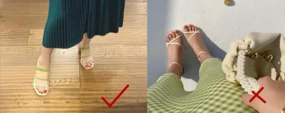 dép mì, chọn giày, thời trang