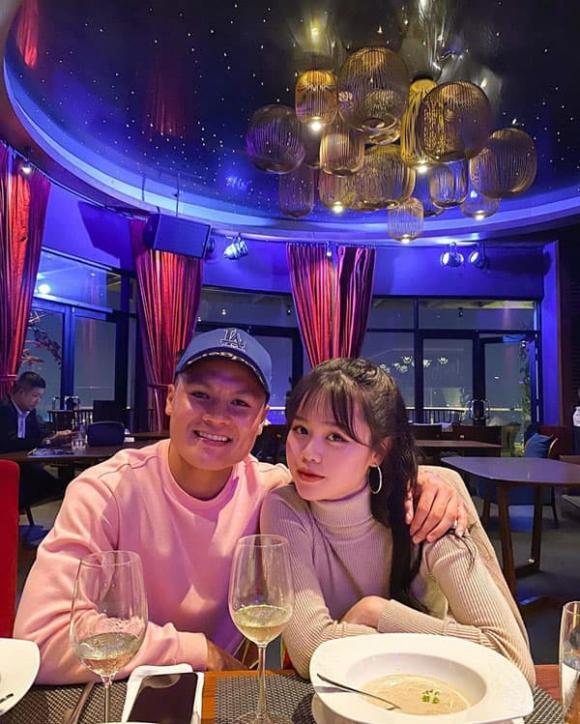 Huyền My, Quang Hải, bạn gái Quang Hải