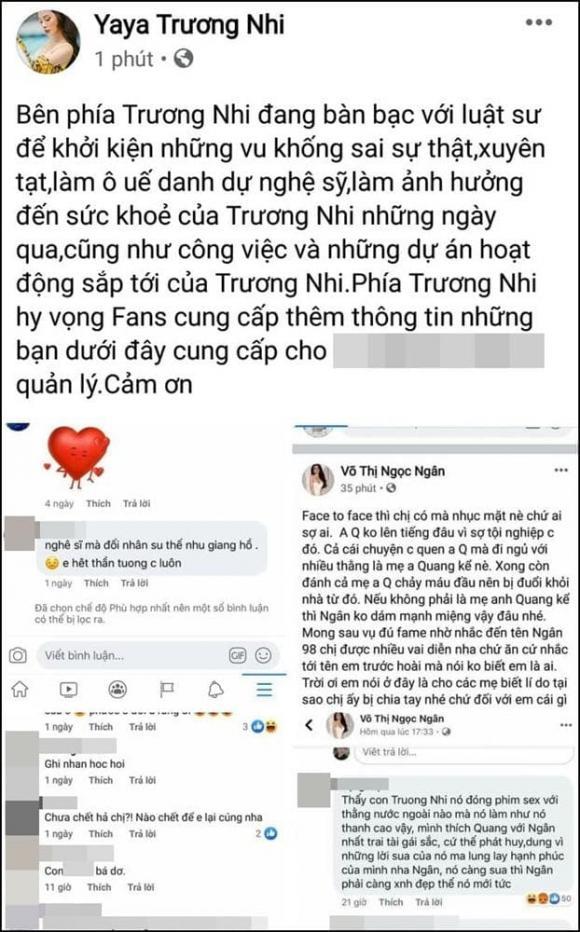 diễn viên Yaya Trương Nhi, nhạc sĩ Lương Bằng Quang, sao Việt