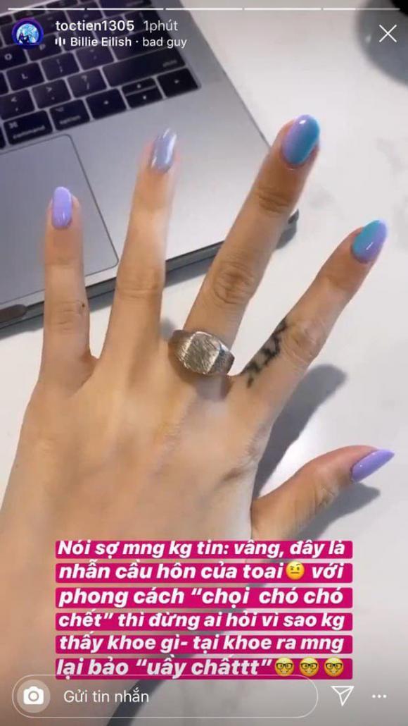 Ca sĩ Tóc Tiên, Hoàng Touliver, sao Việt