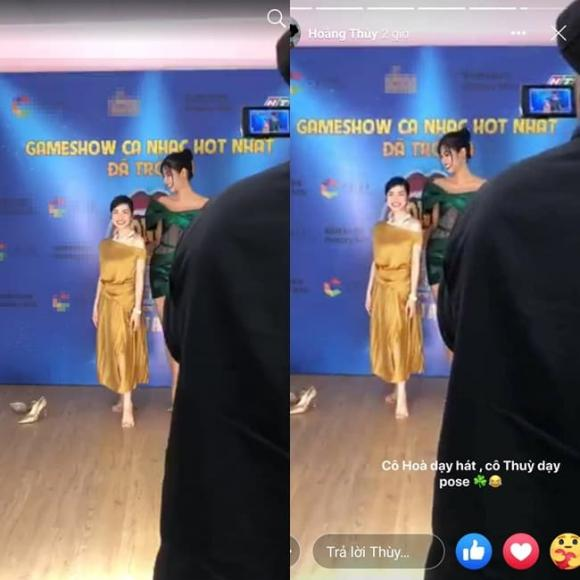 ca sĩ Hoà Minzy, á hậu Hoàng Thuỳ, sao Việt