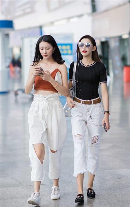 quần nụ, chọn quần, thời trang