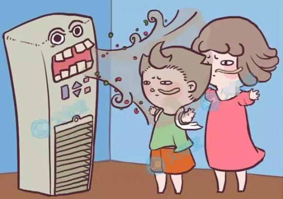 bệnh điều hòa không khí, sử dụng điều hòa, chăm sóc trẻ