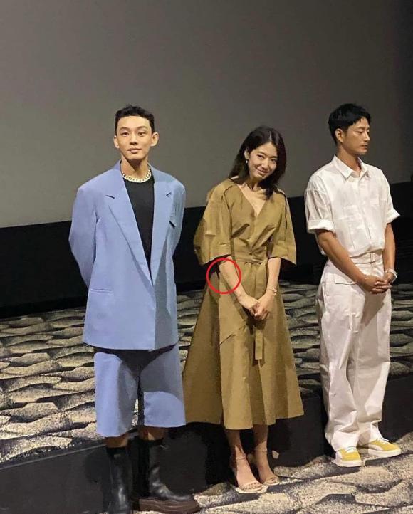 park shin hye, bầm tím, phim hàn