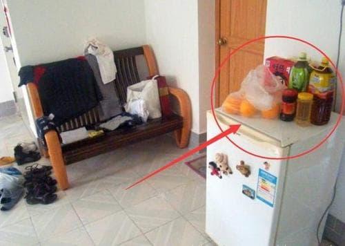 tủ lạnh, phong thủy nhà,