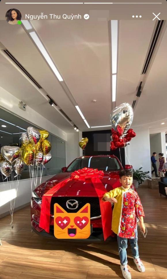 Thu Quỳnh, xe của Thu Quỳnh, sao Việt