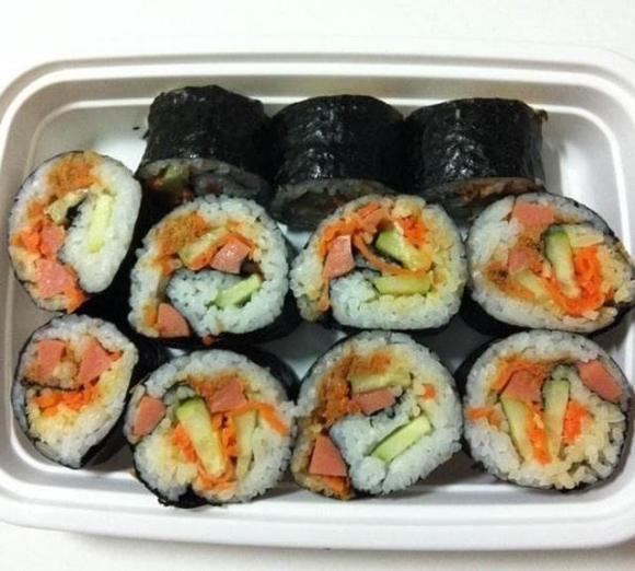 sush, cuộn sushi, dạy nấu ăn