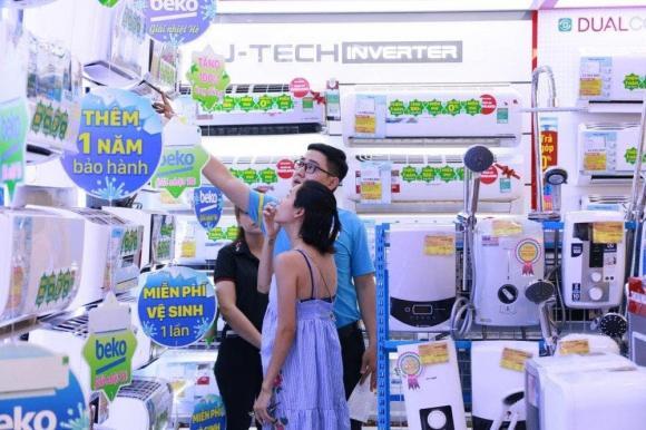 Điện máy xanh, thị trường điện máy, máy lạnh