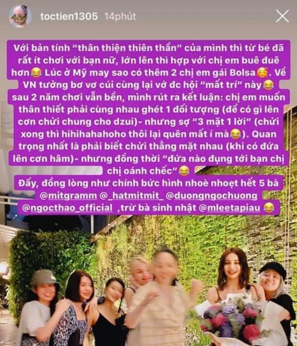 ca sĩ Tóc Tiên, chi pu, sao Việt