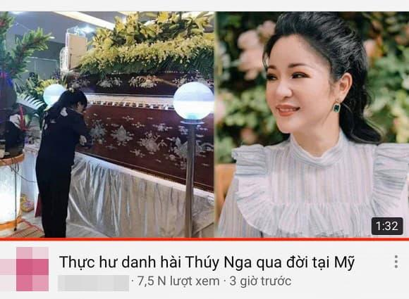 danh hài Thuý Nga, sao Việt